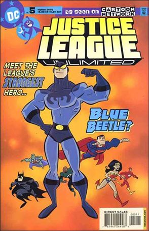 Justice League Unlimited 5-A