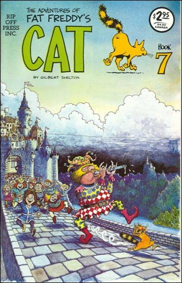 Adventures of Fat Freddy's Cat 7-A by Rip Off Press