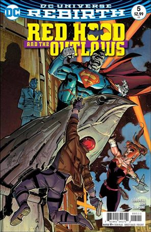 Red Hood and the Outlaws (2016) 5-A