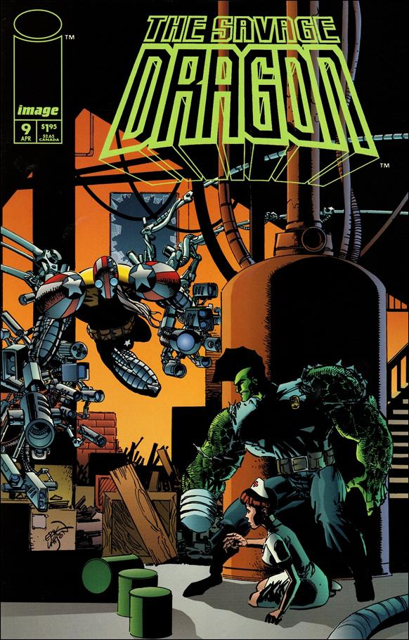 Savage Dragon (1993) 9-A by Image
