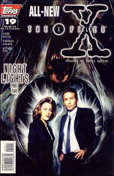 X-Files (1995) 19-A by Topps