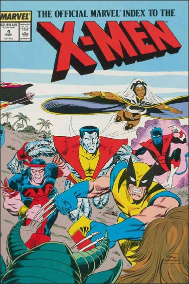 Official Marvel Index to the X-Men (1987) 4-A by Marvel