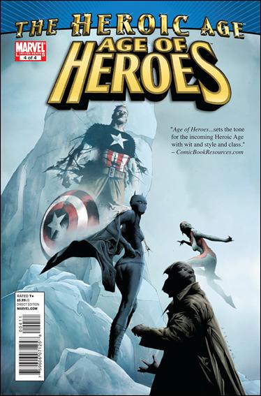 Age of Heroes (2010) 4-A by Marvel