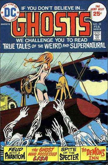 Ghosts (1971) 35-A by DC