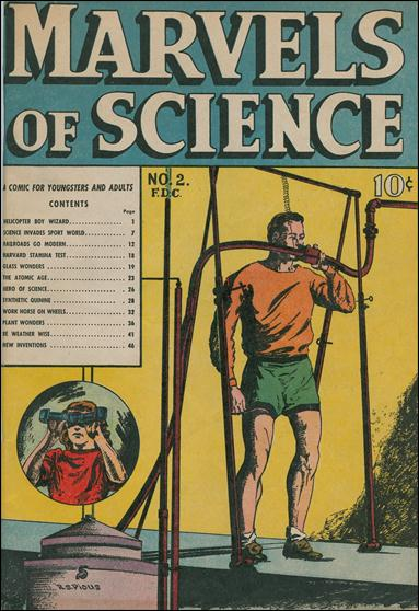 Marvels of Science 2-A by Charlton