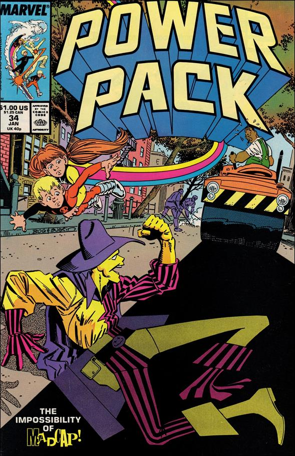 Power Pack (1984) 34-A by Marvel