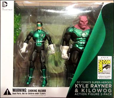 DC Comics Super-Heroes (2-Packs) Kyle Rayner and Kilowog by DC Collectibles