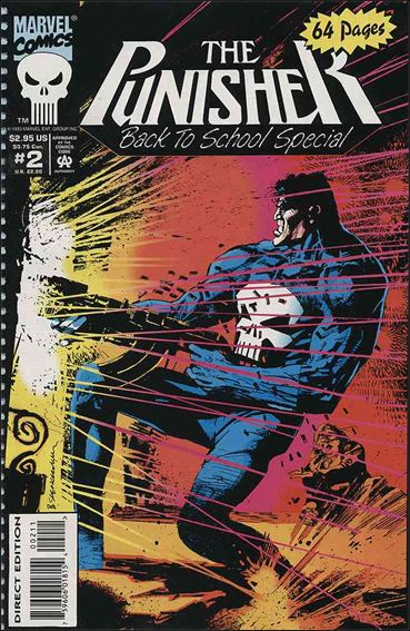 Punisher Back to School Special 2-A by Marvel