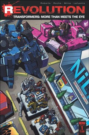 Transformers: More Than Meets The Eye: Revolution 1-A