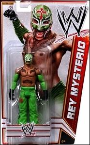 WWE Superstars (2012) Rey Mysterio by Mattel