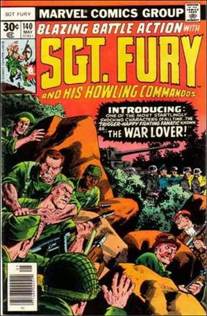 Sgt. Fury and His Howling Commandos 140-A