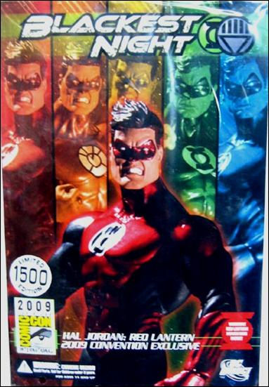 Blackest Night (Exclusives) Hal Jordan: Red Lantern 1/1500 by DC Direct