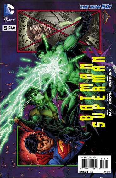 Batman/Superman 5-A by DC
