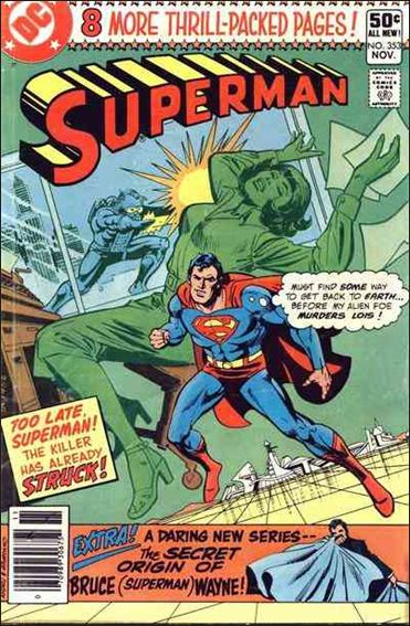 Superman (1939) 353-A by DC