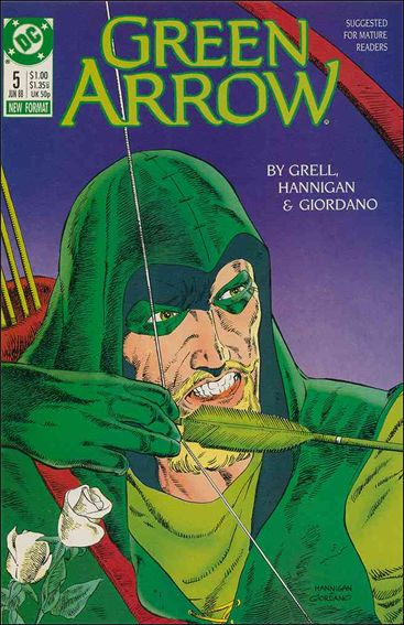Green Arrow (1988) 5-A by DC
