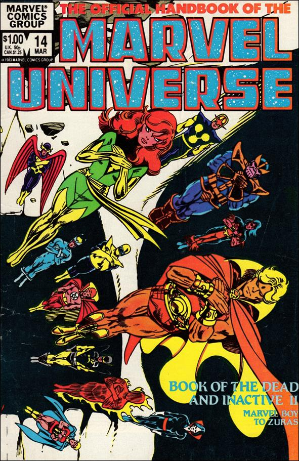 Official Handbook of the Marvel Universe (1983) 14-A by Marvel