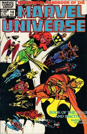 Official Handbook of the Marvel Universe (1983) 14-A