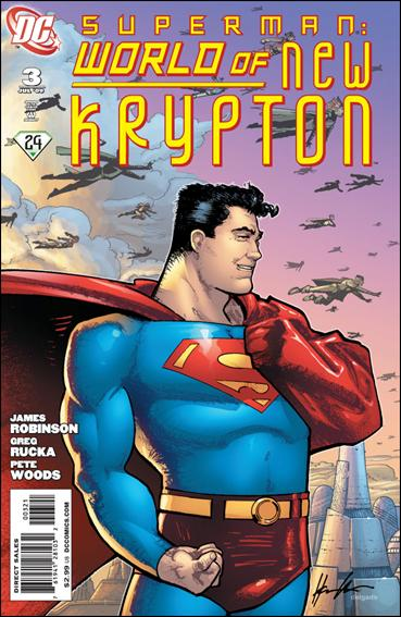 Superman: World of New Krypton 3-B by DC