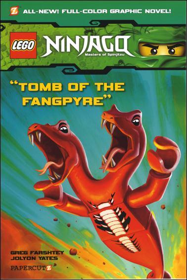 LEGO Ninjago Masters of Spinjitzu 4-A by Papercutz