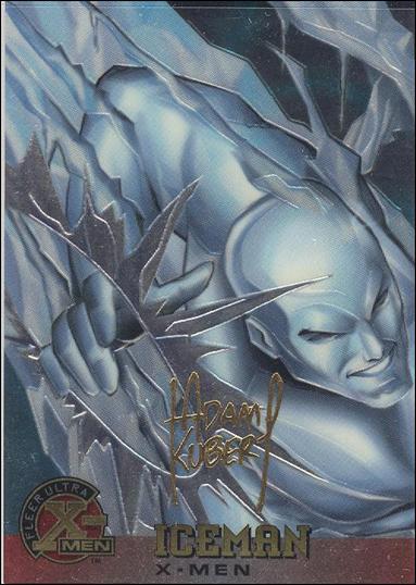 1995 Fleer Ultra X-Men All Chromium (Gold Signature Parallel Base Set) 7-A by Fleer