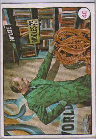 Batman: Bat Laffs (Base Set)  40-A by Topps