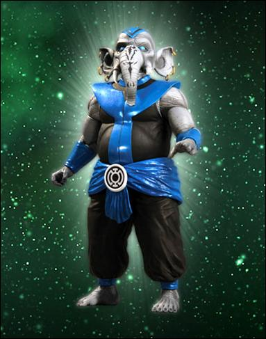 Green Lantern (Series 5) Blue Lantern Brother Warth by DC Direct