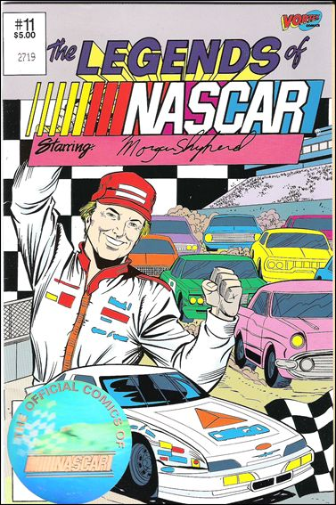 Legends of Nascar 11-A by Vortex Comics