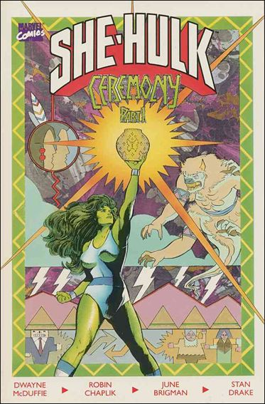 Sensational She-Hulk in Ceremony 1-A by Marvel