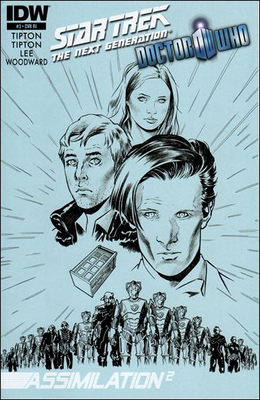 Star Trek: The Next Generation / Doctor Who: Assimilation2 3-C by IDW