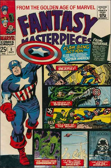 Fantasy Masterpieces (1966) 5-A by Marvel