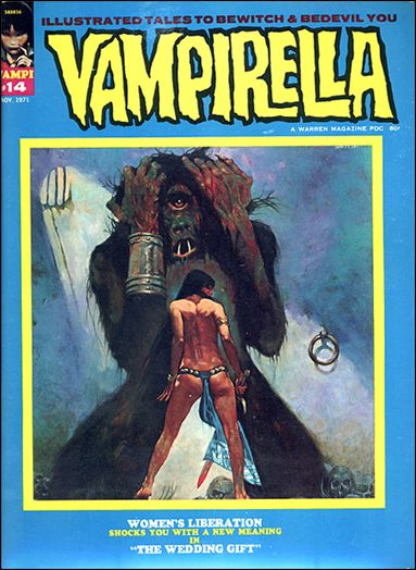 Vampirella 14-A by Warren