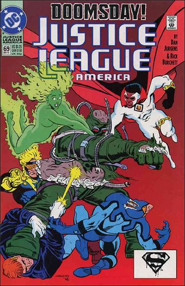 Justice League America 69-A by DC
