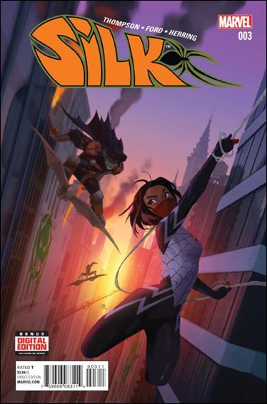Silk (2016) 3-A by Marvel