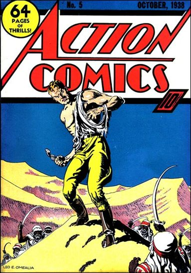 Action Comics (1938) 5-A by DC
