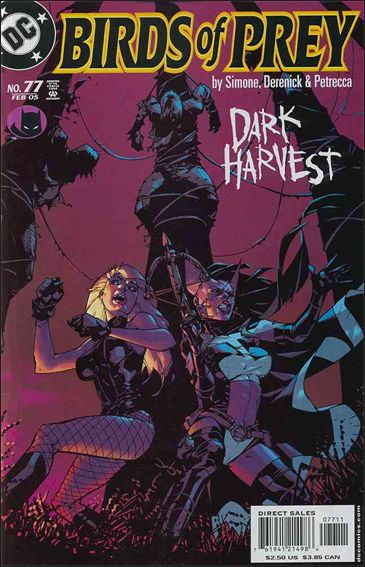 Birds of Prey (1999) 77-A by DC