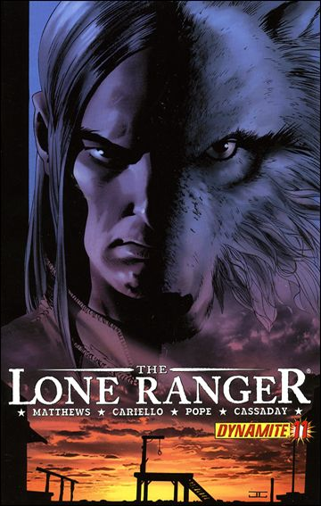 Lone Ranger (2006) 11-A by Dynamite Entertainment