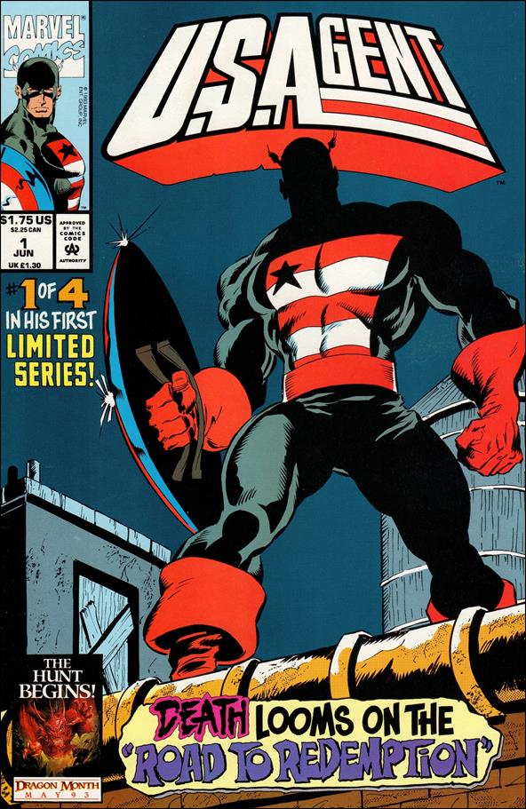 U.S.Agent (1993) 1-A by Marvel