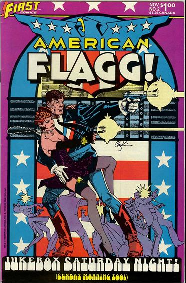 American Flagg! (1983) 2-A by First