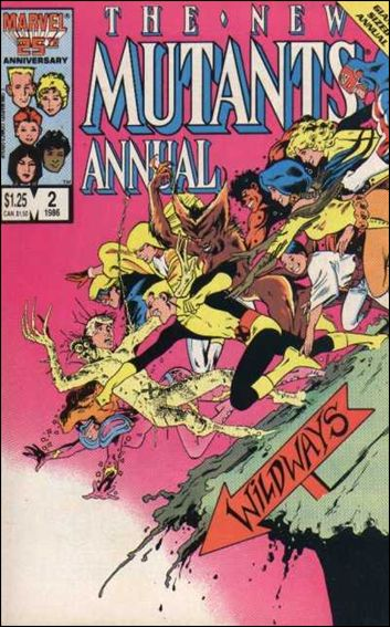 New Mutants Annual 2-A by Marvel