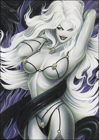 Lady Death and the Women of Chaos!: Love Bites (Base Set) 1-A by Comic Images