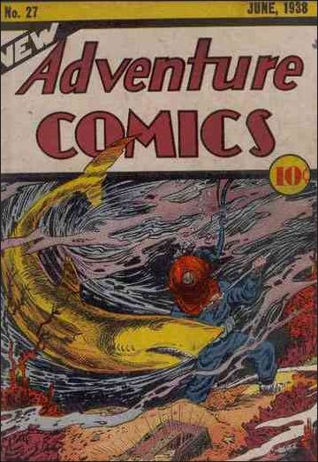 New Adventure Comics 27-A by DC
