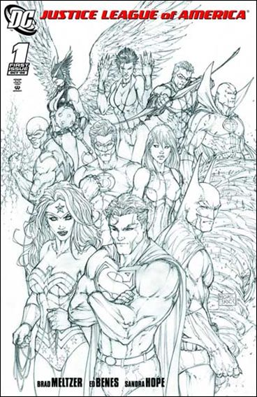 Justice League of America (2006) 1-E by DC