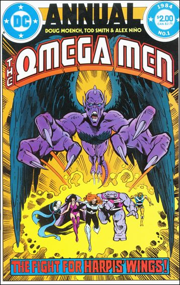 Omega Men Annual 1-A by DC