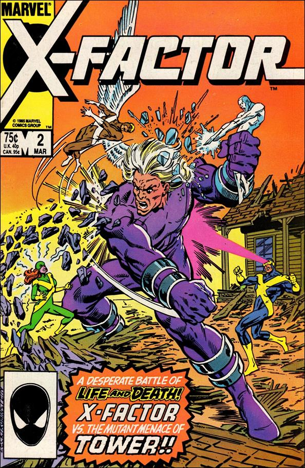 X-Factor (1986) 2-A by Marvel