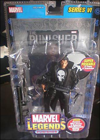 Marvel Legends Punisher Movie Version Silver Foil