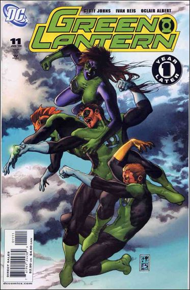 Green Lantern (2005) 11-A by DC