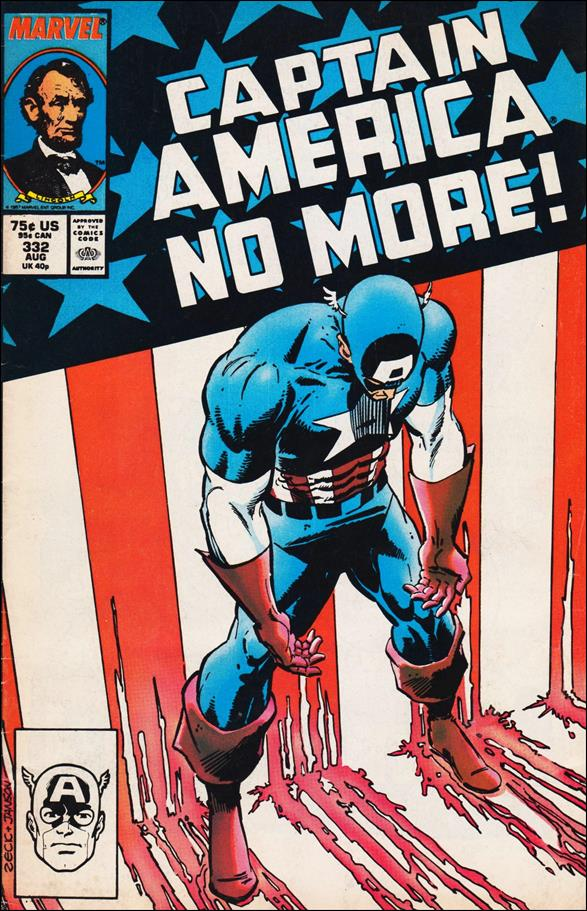 Captain America (1968) 332-A by Marvel
