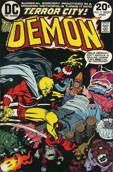 Demon (1972) 12-A by DC