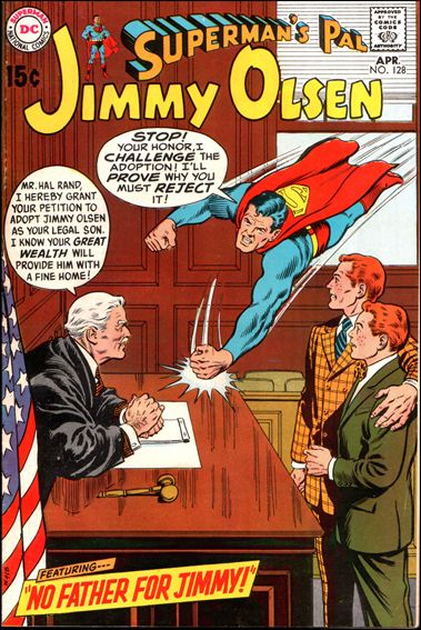 Superman's Pal Jimmy Olsen 128-A by DC