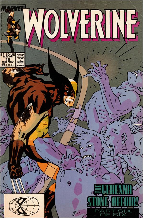 Wolverine (1988)  16-A by Marvel